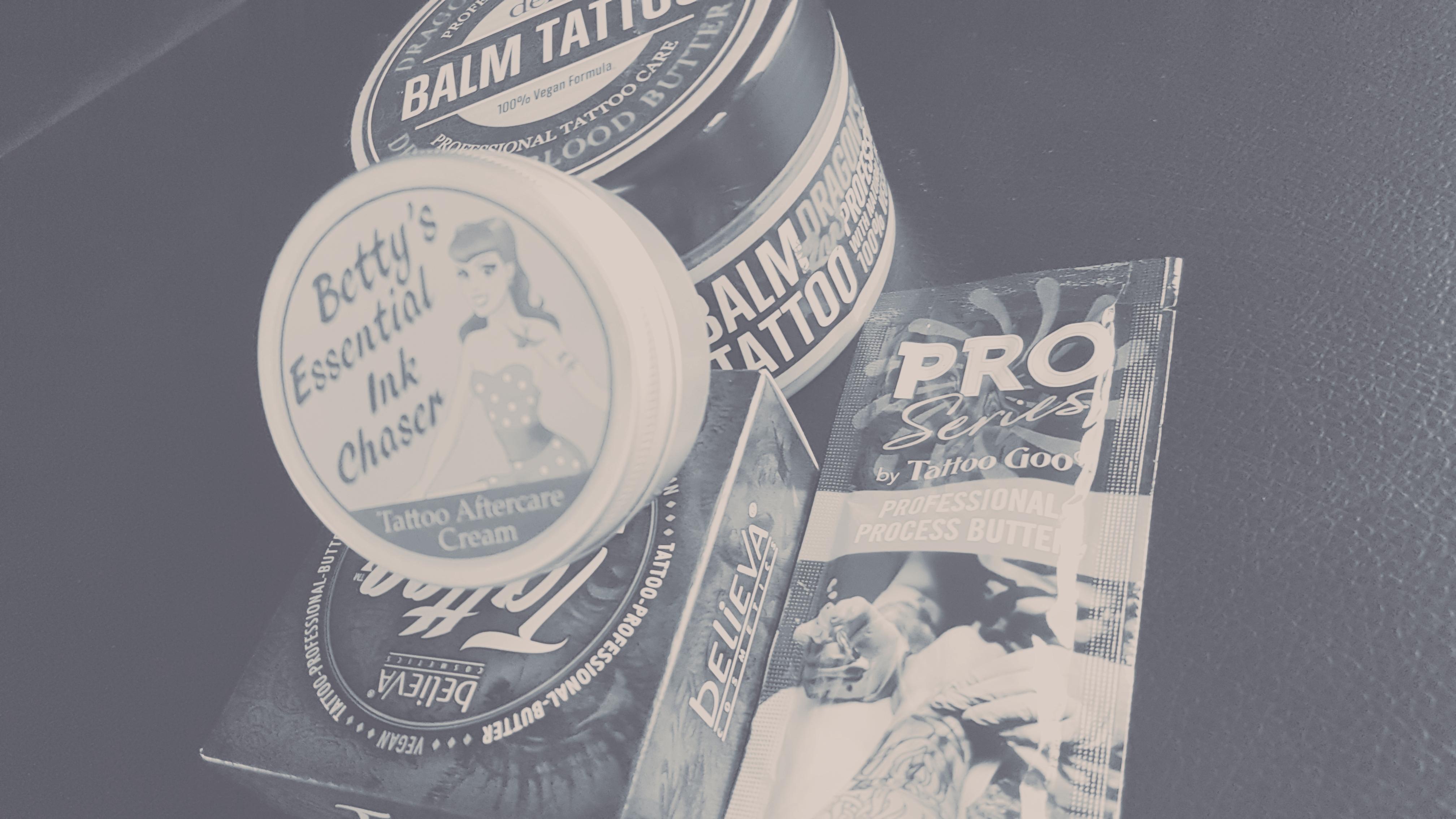Aftercare Pflegeprodukte Tattoopflege